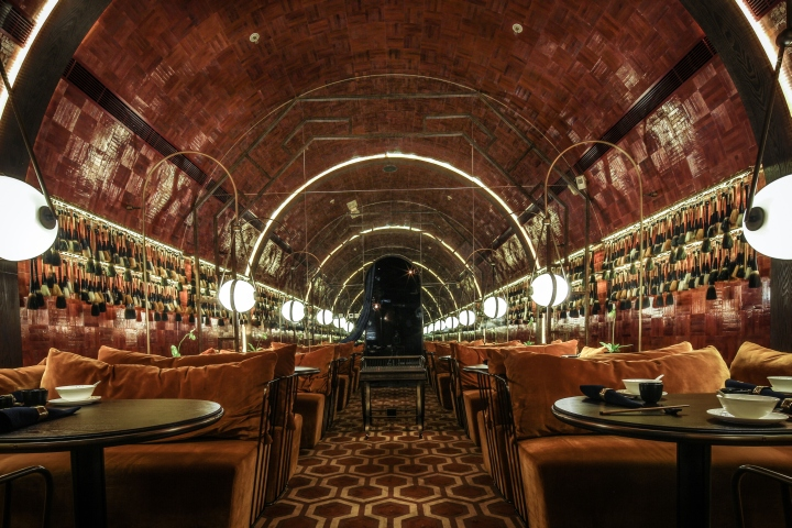 Mott 32 Restaurant By Joyce Wang Hong Kong Retail Design Blog