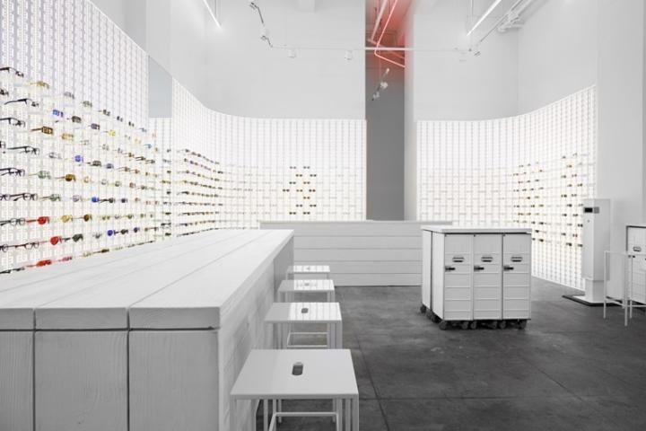 Eyeglass Frames New York City : EYEWEAR STORES! Mykita eyewear shop, New York City ...