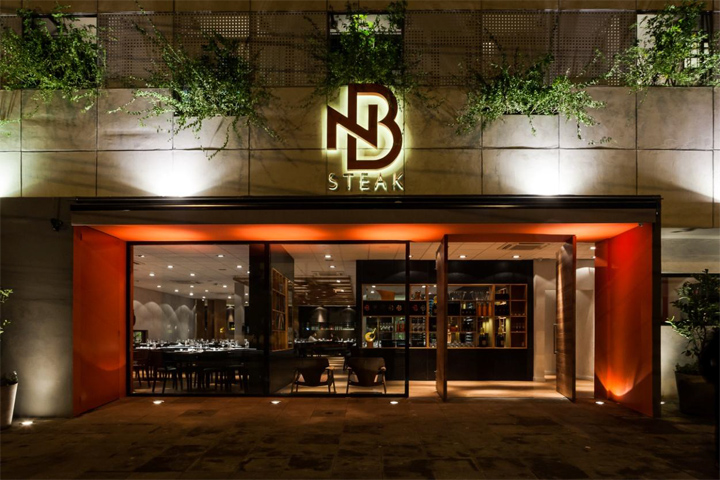 Amazing Brazilian Restaurant Without Walls NB Steak Restaurant By Studio ZEH Arquitetura Porto Alegre Brazil
