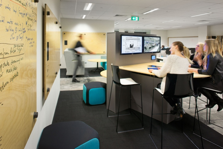 Norman disney young office by mkdc perth australia for Office design standards