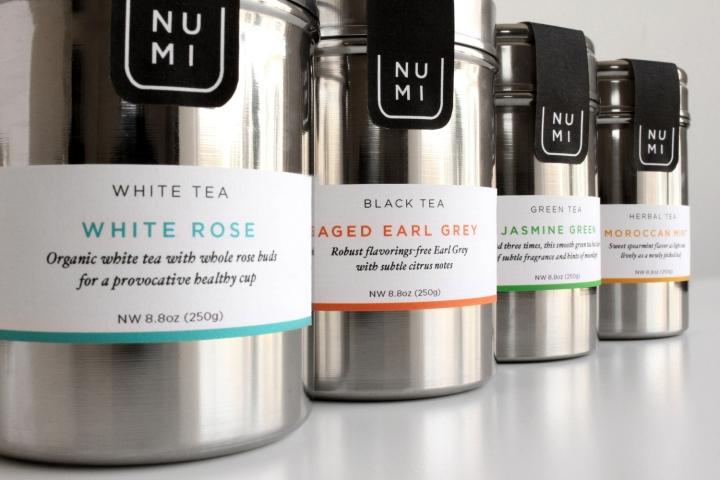 Numi Tea平面视觉设计