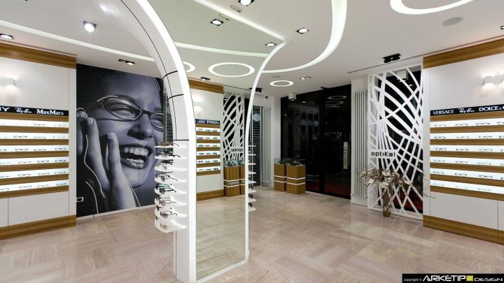 Eyewear Stores Optical Shop By Arketipo Design Rovigo