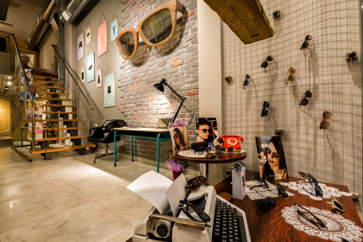 EYEWEAR STORES Optical Shop By Dimensions Patras