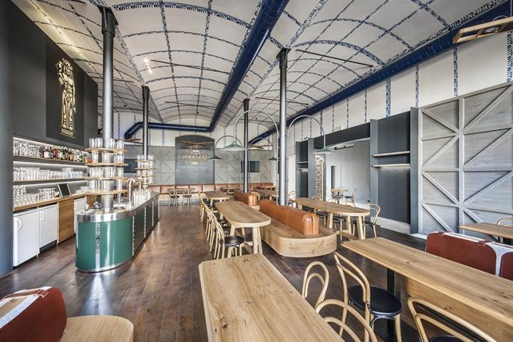 Radegast bar by io studio brand s nad labem czech - Interior leather bar free online ...