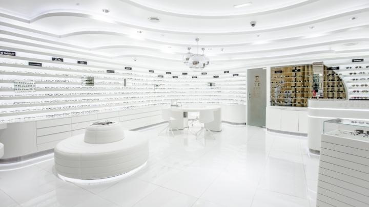 187 Eyewear Stores Rivoli Eyezone Stores By Labor Weltenbau