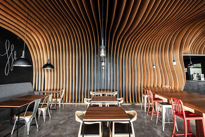 Six degrees cafe by oozn design jakarta indonesia for Interior design jakarta