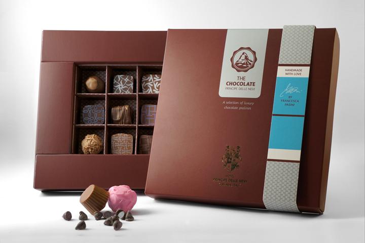 The Chocolate 巧克力盒包装设计