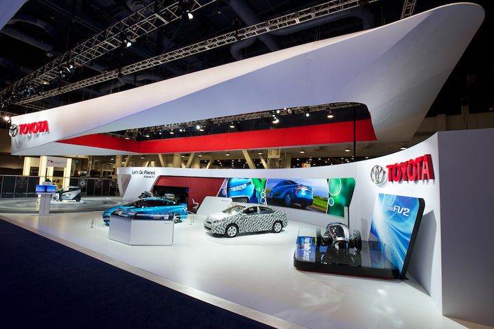 » Toyota booth at CES 2014 by George P. Johnson Los ...