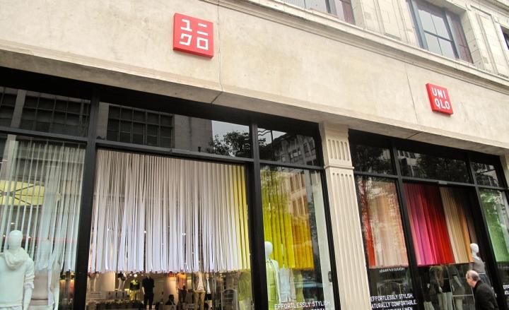 Uniqlo store windows - Retail Design Blog Uniqlo Spring Windows And In Store