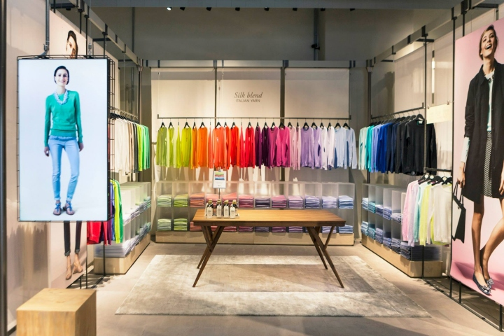 united colors of benetton concept store milan italy