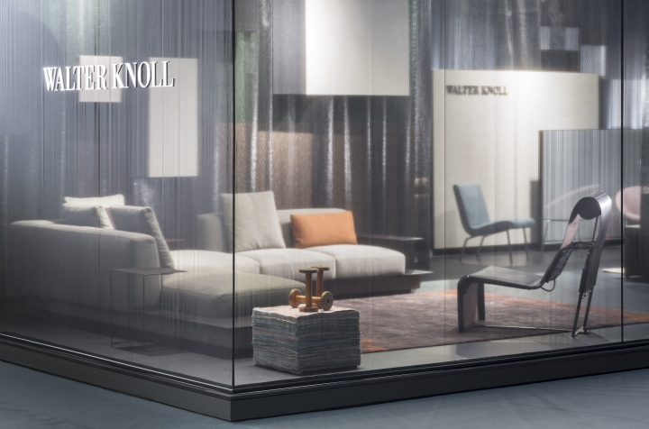WALTER KNOLL stand at imm cologne by Ippolito Fleitz Group, Cologne ...