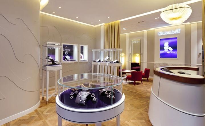 Wellendorff jewellery boutique by stefano tordiglione for Mobilia eaton