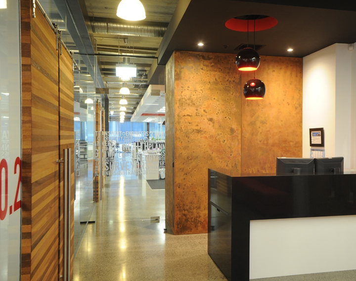 Woods office by spaceworks design group auckland new zealand