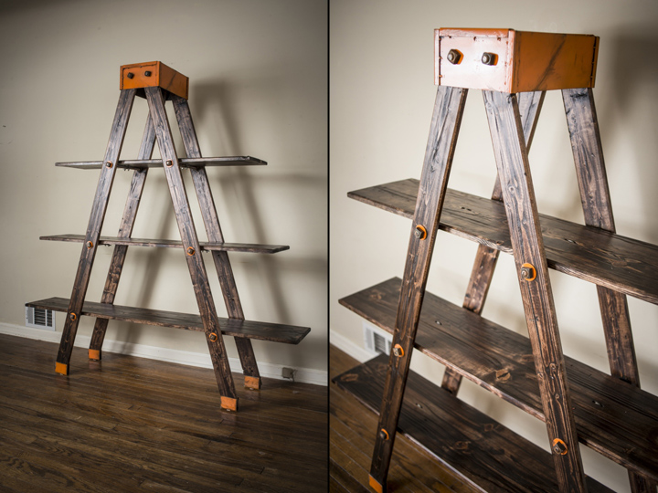 A Frame Ladder Shelf By Anton Maka Designs 187 Retail Design