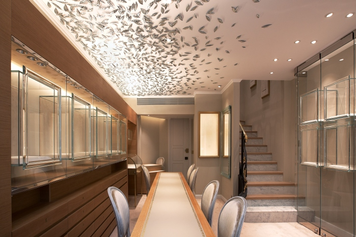 ANSHINDO Jewelry Shop By Masafumi Tashiro Design Room Paris