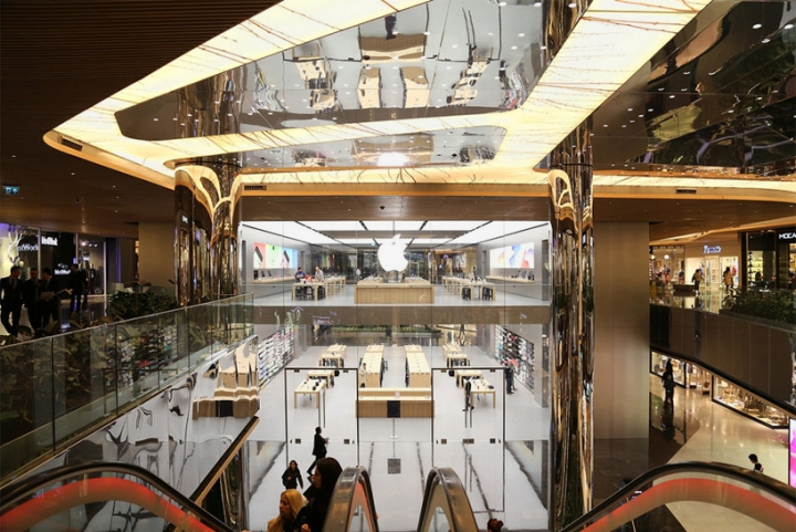 apple store by foster partners istanbul turkey. Black Bedroom Furniture Sets. Home Design Ideas