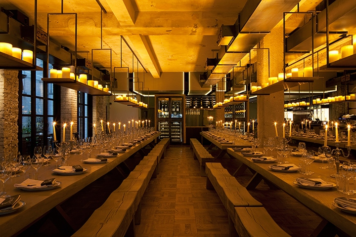 Beast restaurant by designlsm london uk retail design