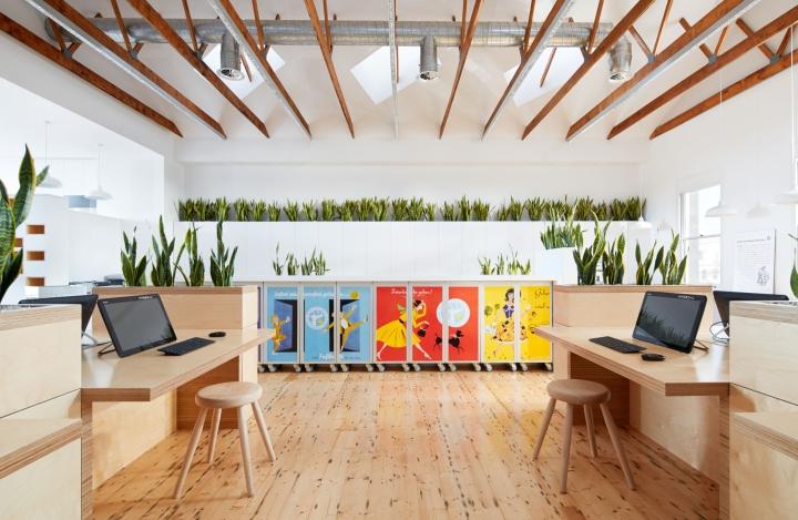 Birkenstock australia headquarters by melbourne design for Studio australia