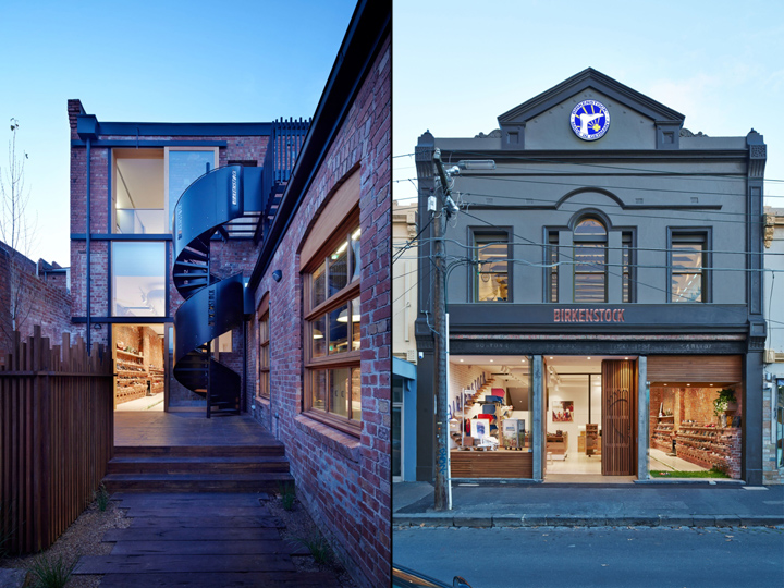 Birkenstock australia headquarters by melbourne design for Melbourne design studios