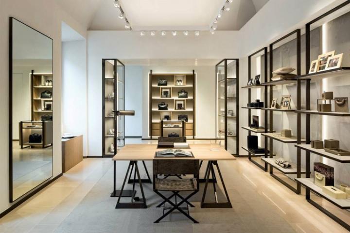 意大利米兰Bottega Veneta品牌男装店设计