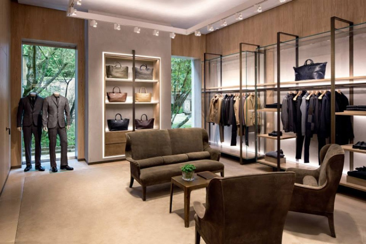 Bottega Veneta Maison Milan Italy 187 Retail Design Blog