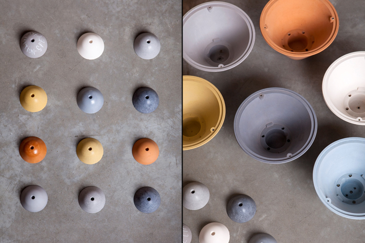 Bullet Collection Concrete Lighting By Studio Itai Bar On