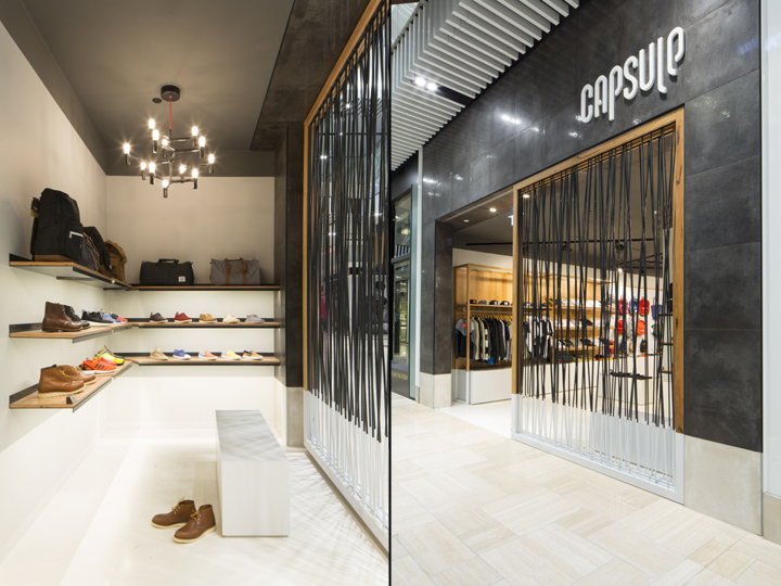Capsule store by prospace design studios melbourne for Melbourne space design