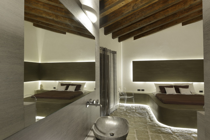 Wellness design  Casale del Principe spa and wellness center by Alberto Apostoli ...