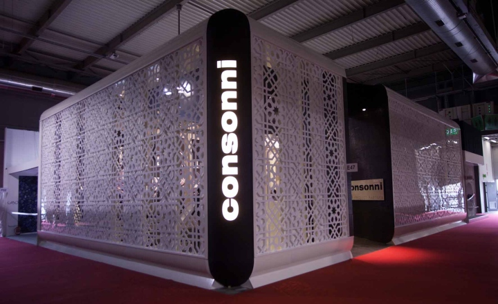 Exhibition Stand Agreement : Consonni international contract stand at salone del