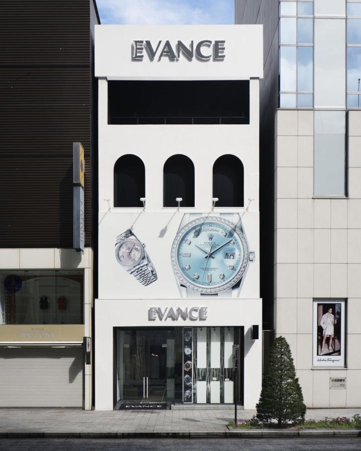 187 Evance Luxury Watch Shop By Ichiro Nishiwaki Design