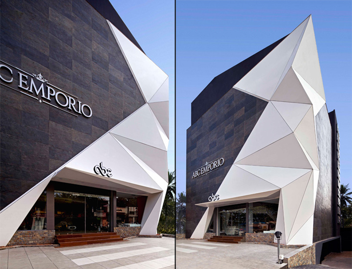 Kannur India  city pictures gallery : Emporio showroom by NU.DE, Kannur – India » Retail Design Blog