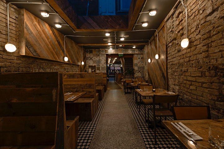 Rustic retail design blog for Restaurant design london