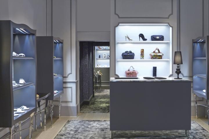 Gina store by caulder moore london uk retail design blog for Retail interior design agency london