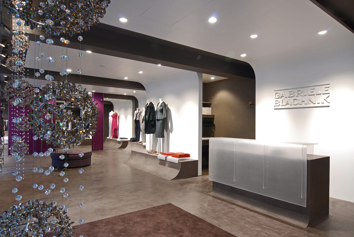 187 Gabriele Blachnik Showroom By Arno Design Munich Germany