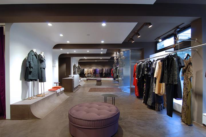 gabriele blachnik showroom by arno design munich germany. Black Bedroom Furniture Sets. Home Design Ideas
