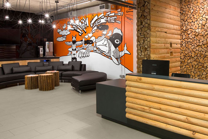 Hootsuite Offce By Ssdg Interiors Vancouver Canada Retail Design Blog