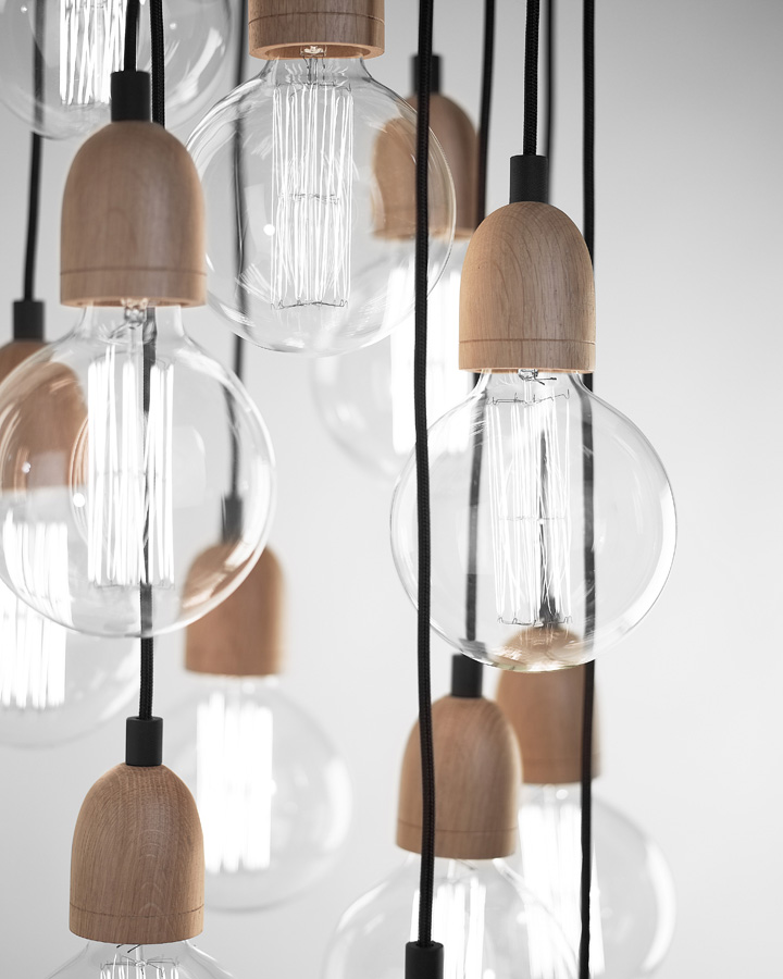Populaire Ilde Wood lamp by David Abad » Retail Design Blog RA71
