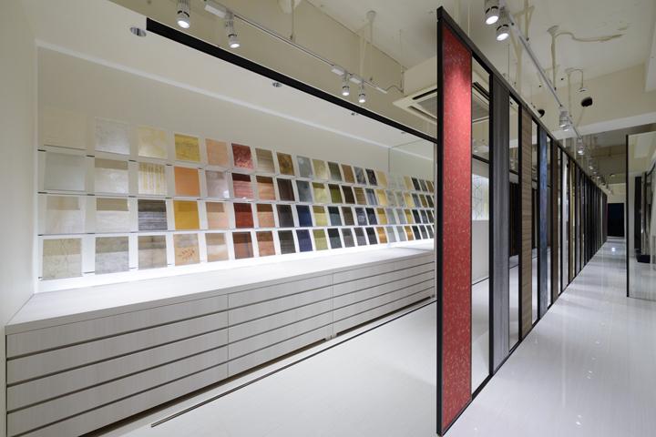 187 Kamism Showroom Design By Ichiro Nishiwaki Tokyo Japan