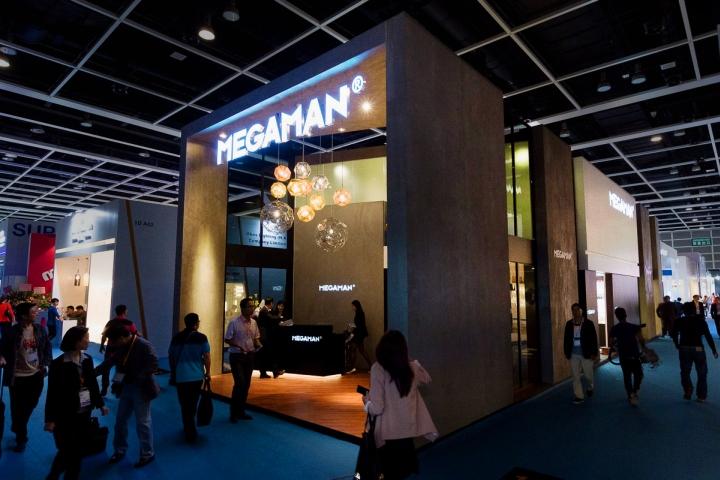 Exhibition Stand Hong Kong : Megaman stand by uniplan hong kong china