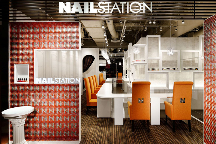 Nail Station Retail Design Blog