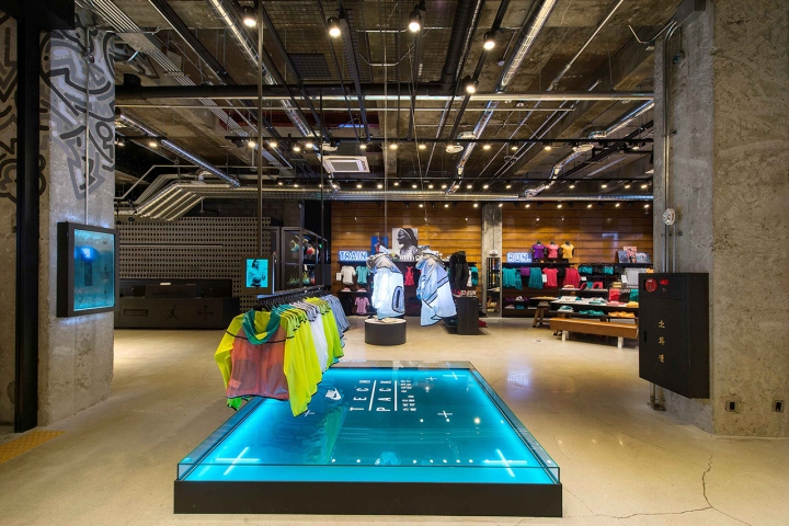 Nike Store Seoul South Korea 187 Retail Design Blog