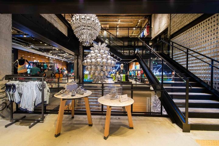 Nike Store Seoul South Korea Retail Design Blog