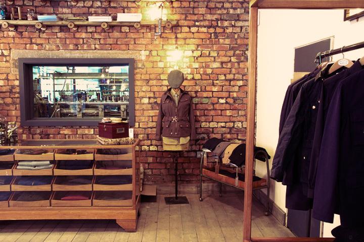 Private White VC store, Manchester – UK » Retail Design Blog