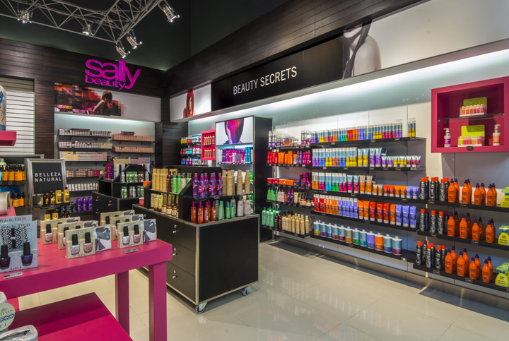 beauty sally cosmetic retail cosmetics interior hair stores droguett peru lima display supply shopping decoration designs fixtures inside morden aa