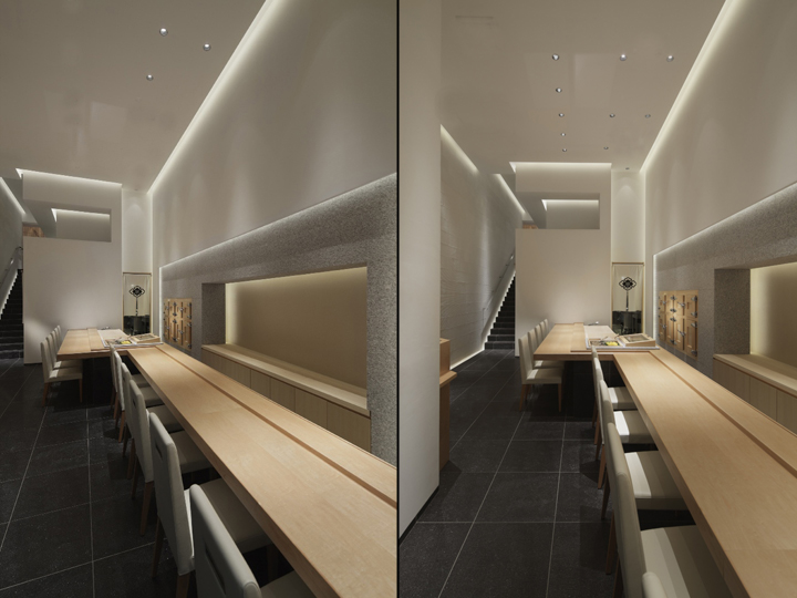 Shodai restaurant by ichiro nishiwaki design office tokyo for Asian office decor