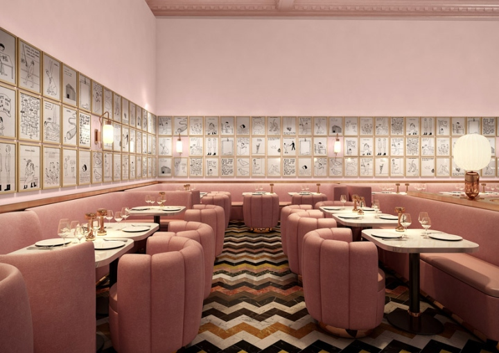 Sketch restaurant by david shrigley london uk retail