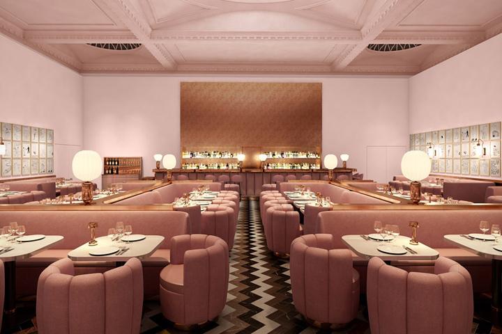Sketch restaurant by david shrigley london uk retail