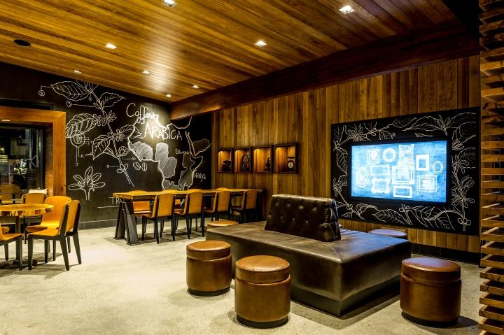 Starbucks Store At Disneyland Orlando Florida Retail Design Blog