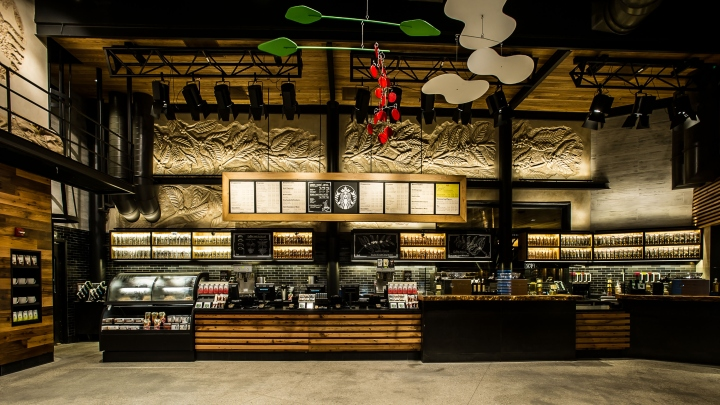 Starbucks Store At Disneyland Orlando Florida 187 Retail