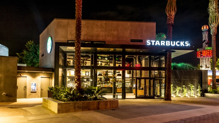 Starbucks store at disneyland orlando florida retail